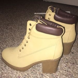 Boots but in a heel